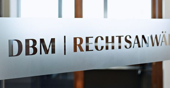 Markenaufbau <br /> DBM |RECHTSANWÄLTE