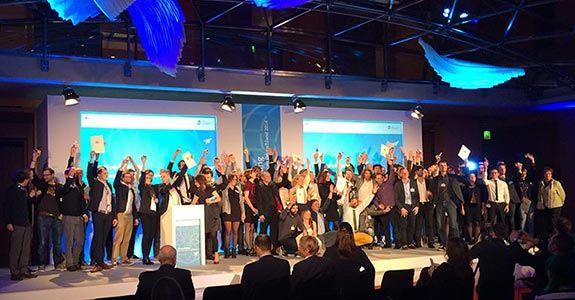"""Preisverleihung des BMWI <br/> """"Kultur- und Kreativpiloten Deutschland 2014"""""""