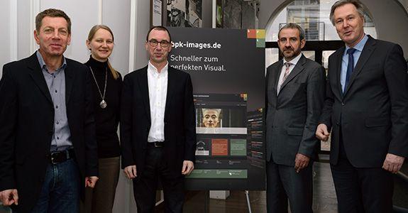 Launch des neuen Bildportals der<br /> Stiftung Preußischer Kulturbesitz