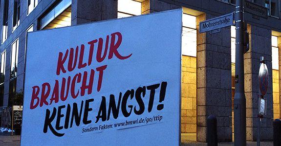 Kultur braucht kein TTIP! <br/> Turbulente Abschluss-Diskussion