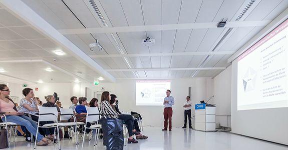 Unser Vortrag im CINIQ <br/>für Berlin Partner