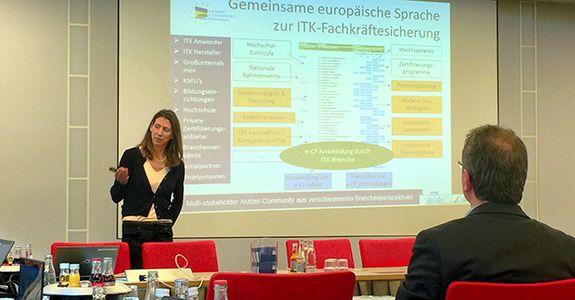 ITK-Fachkräftesicherung </br>e-CF-Workshop im DIN Institut