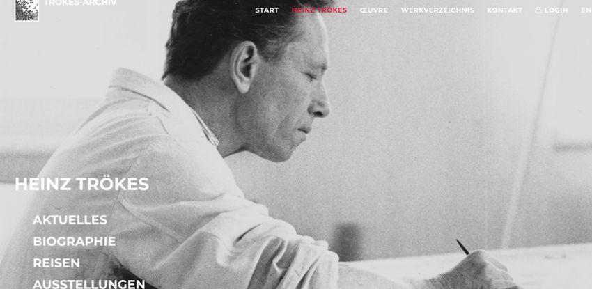 Digitales Werkverzeichnis von Heinz Trökes ist online
