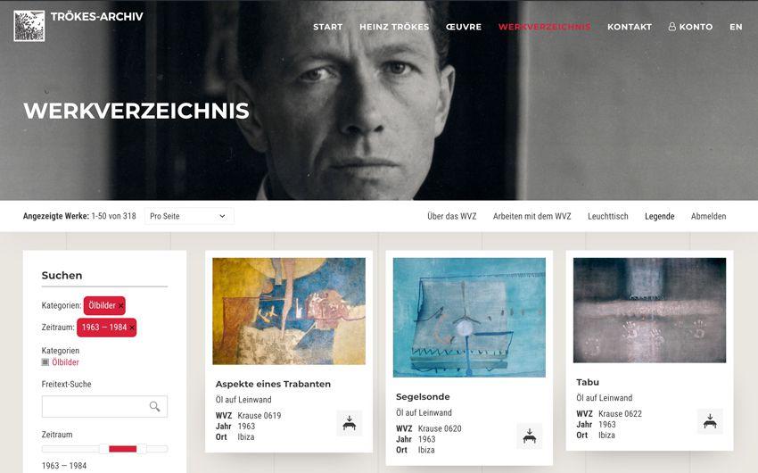 troekes-heinz-Werksverzeichnis