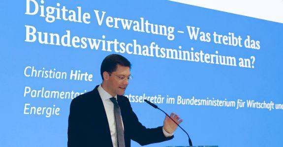 Moderne, digitale Verwaltung: Konferenz im BMWi