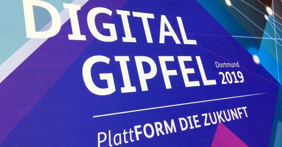 Plattformen der Zukunft: Digital-Gipfel 2019